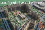 """2х комн. квартира ЖК """"Притомский"""" - Притомский пр-кт 35/2.  Продажа. Кемерово."""