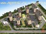 1-2 комн. квартиры 60 м.кв. в новом доме. ЖК Цветной бульвар. Кемерово.