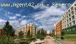 Новая квартира 92 м. + терасса. Лесная поляна. Кемерово. Продажа.