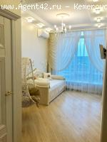элитная квартира 100 м.кв. в ЖК Родные просторы. Кемерово