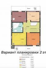 Современный новый коттедж в Сочи. Коттеджный поселок Сочи Хилс. район Донская, ул Высокогорная. Продажа.