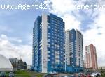 3-к квартира 95 м.кв.под самоотделку в ЖК Каравелла. Продажа. Кемерово.