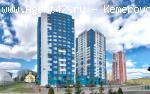 1 комн. видовая квартира 59 кв.м. в ЖК Каравелла. Кемерово. продажа.