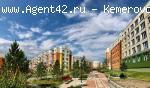 2-к квартира 48,8 кв.м.в Лесной Поляне. Кемерово